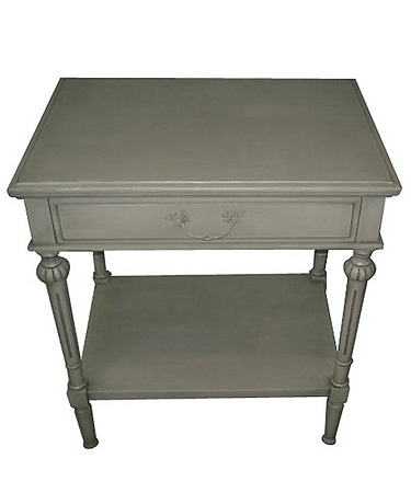Two tiers side table with drawer