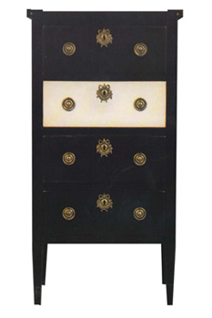 4 Drawers Chest Louis XVI