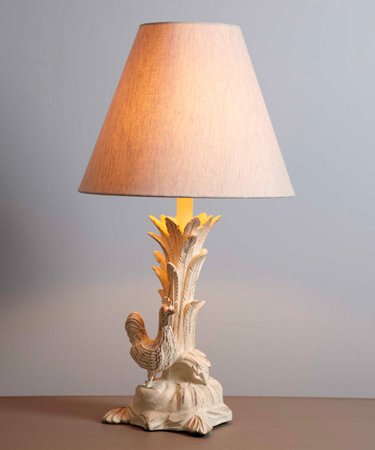 Rooster table lamp